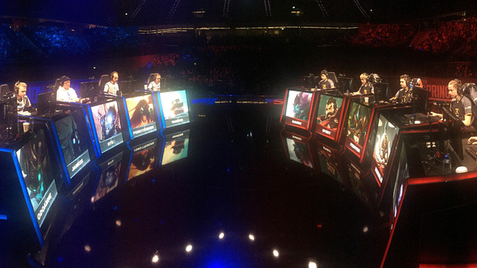 LoL eSports - Spring Finals - Rotterdam