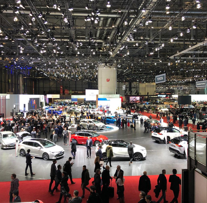 Autosalon Genf 2019 - Weltpremiere Mazda CX-30