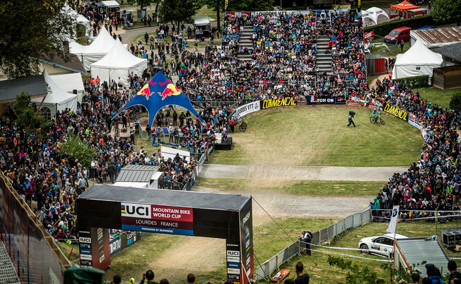 UCI Mountainbike Worldcup - Lourdes France 2017