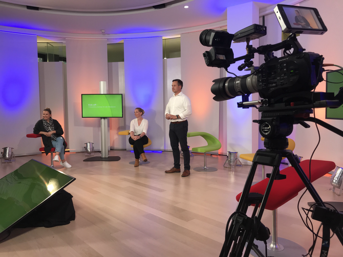 DOP / Lichtsetzender Kameramann für das Live Streaming bei der Feducia GAD in Münster 2020