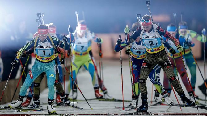 Biathlon auf Schalke 2017