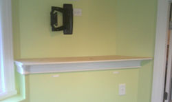 TV Wall Mount and Mantle