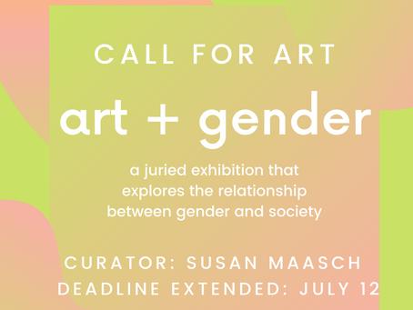 CALL FOR ART: art + gender