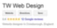twwebdesign crowborough google reviews.P