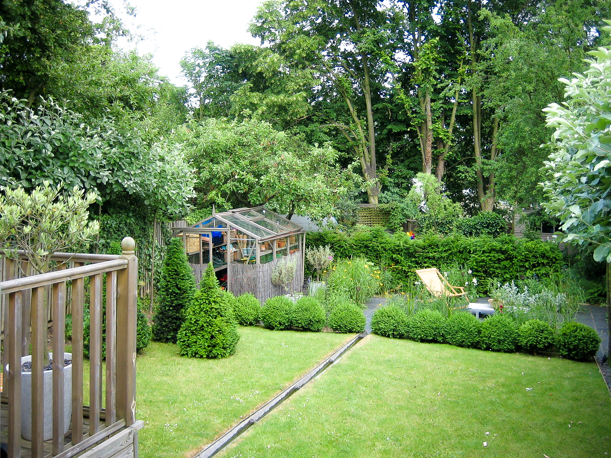 Good sized London family garden