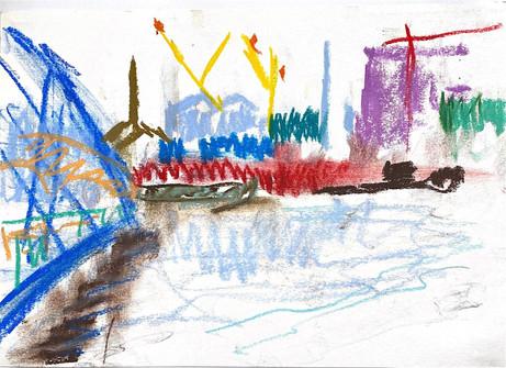 The Jetty towards Trinity Wharf