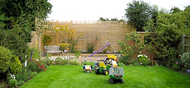 Secluded South London family garden