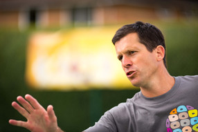 Tim Henman at Royal Marsden Charity Event