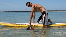Premier cours de paddle -