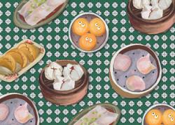 Postivitycards - Hong Kong Food
