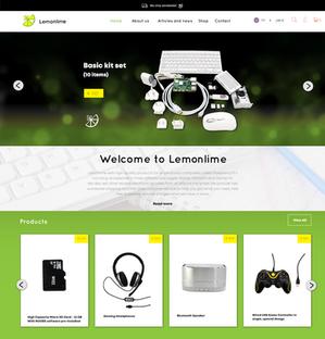 Website design Lemonlime