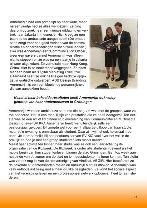 Hanzehogeschool - Magazine 2