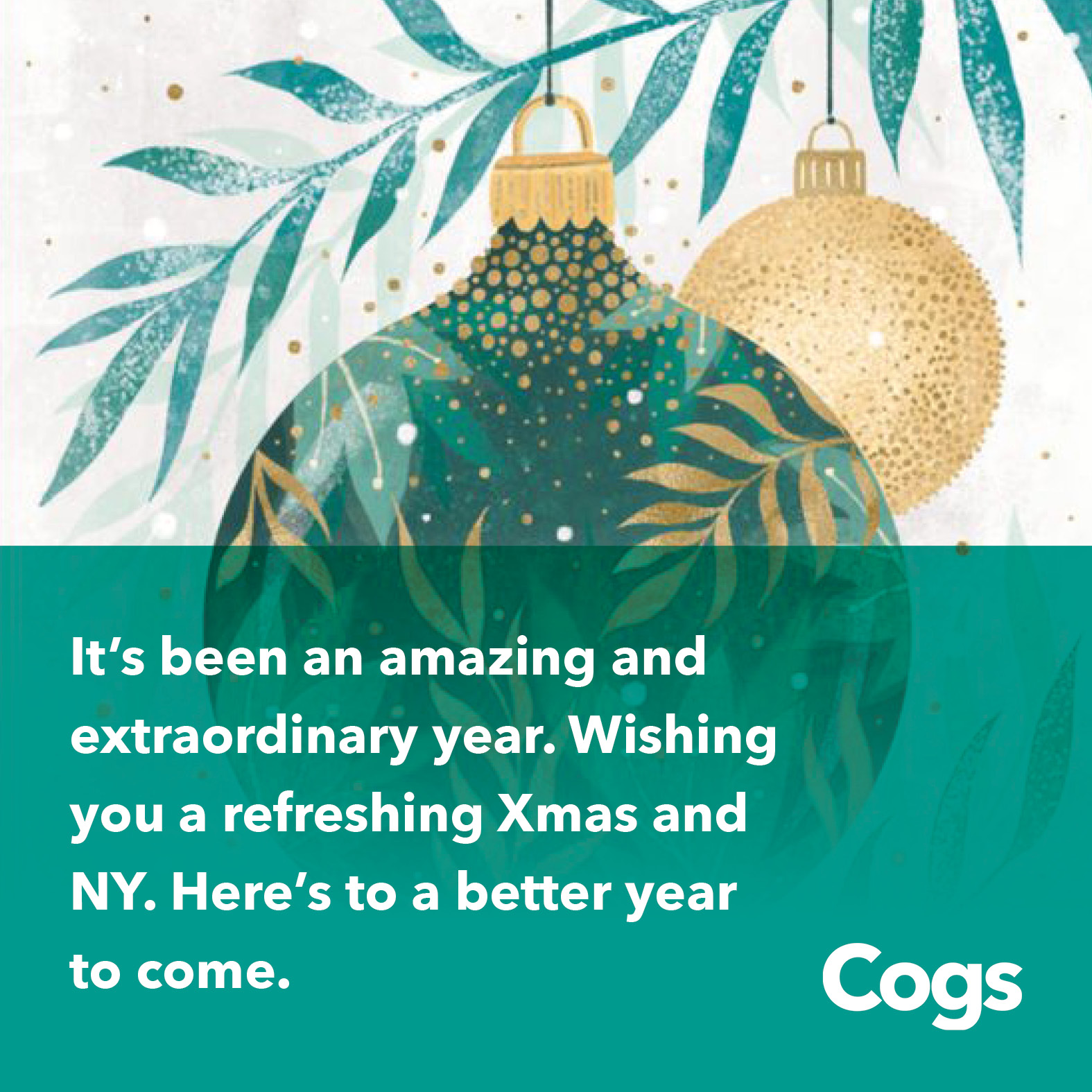 Cogs - Happy Holidays - Instagram3