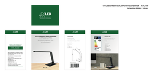 Packaging design - JNLED