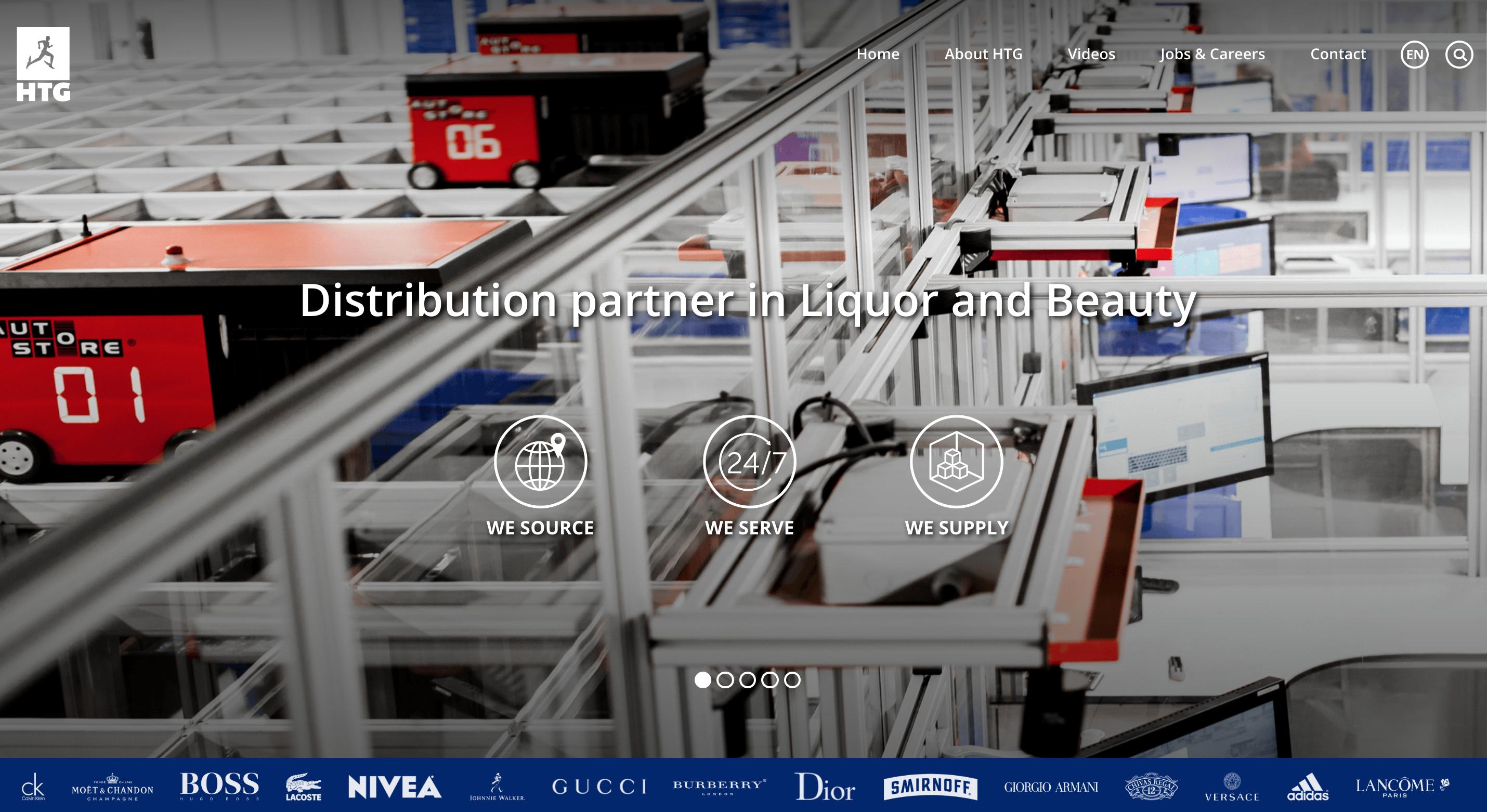 Website design - HTG