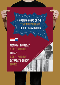 EH - Library poster A3