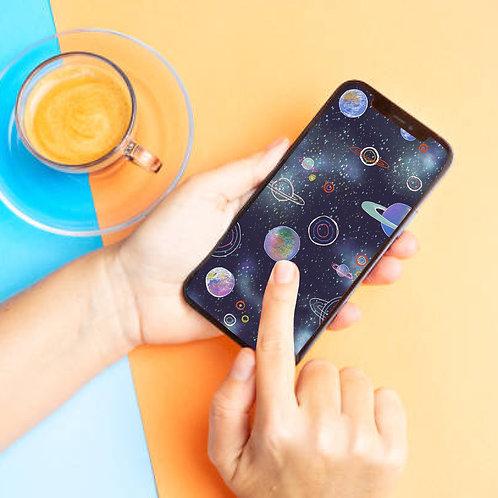 Space - Phone Screensaver