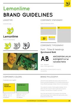 Lemonlime - Brand Manual DEF