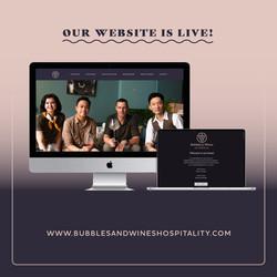 Website Bubbels & Wines