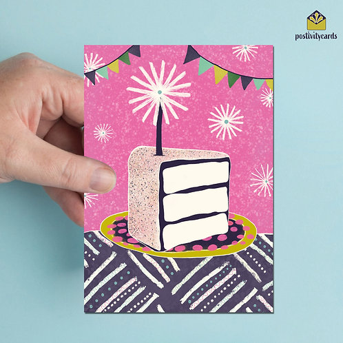 BIRTHDAY CAKE - PINK
