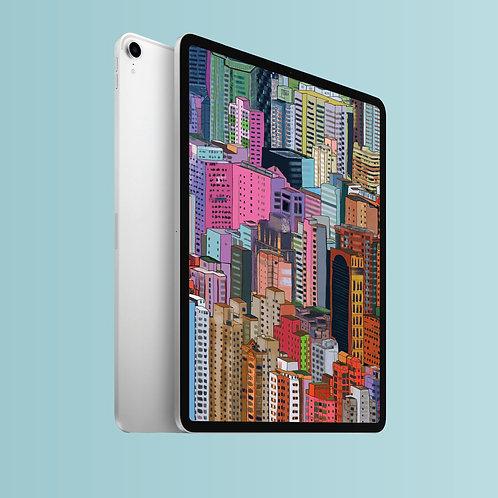 Hong Kong Buildings - iPad Screensaver