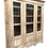 Thumbnail: Antique White Painted and Distressed Tall French Bookcase Display Cabinet