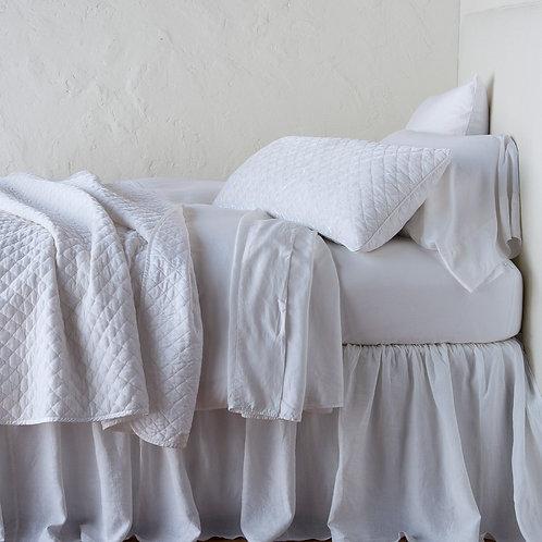 Silk Velvet Quilted Large Throw Blanket
