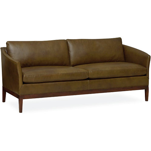 Franklin Leather Apartment Sofa