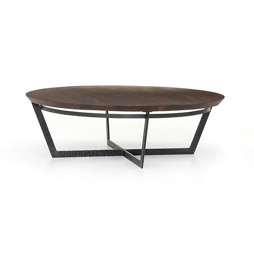 Franck Coffee Table-Light Tanner Brown