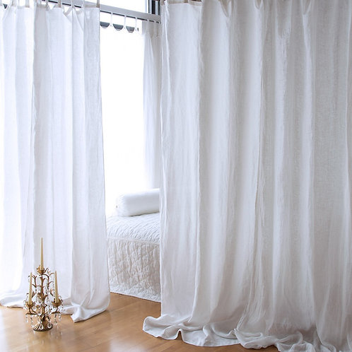 Linen Curtain Panel (Single)