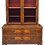 Thumbnail: Antique 19th C. European Glass Display Cabinet / Bookcase With Marquetry