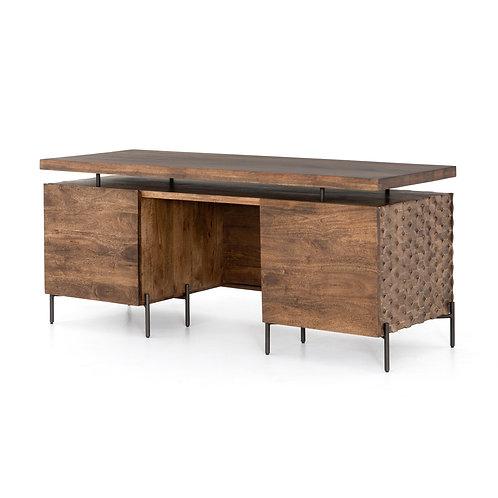 Ruben Desk-Antique Brown