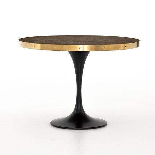 Enzo Bistro Table-Reclaimed Burnt Oak