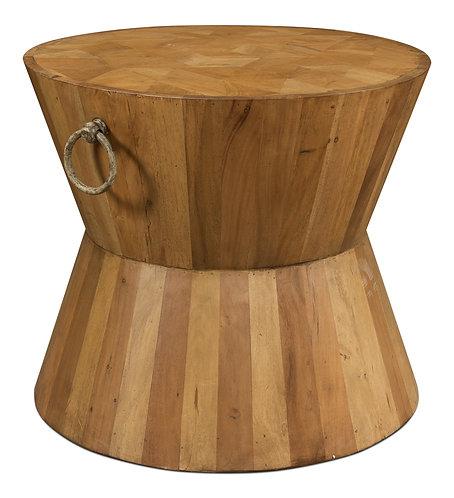 Hourglass Table  Driftwod