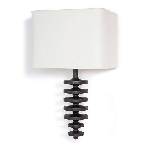 Fishbone Sconce (Ebony)