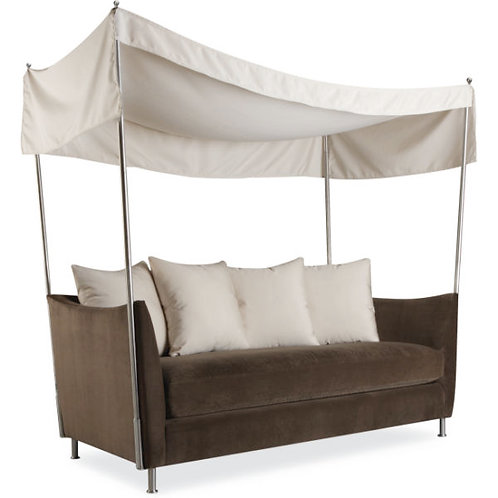 Quinn Outdoor Apartment Sofa w/Canopy in