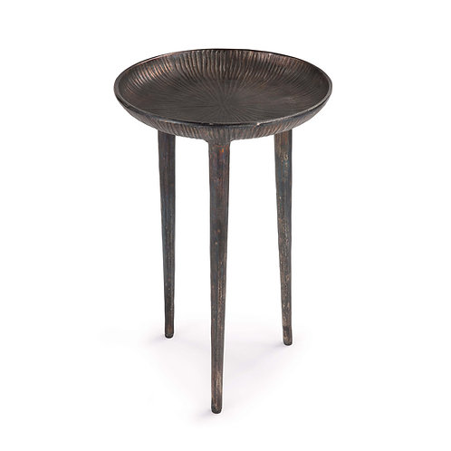 Cruz Table (Blackened Zinc)