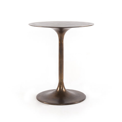 Theo Side Table-Antique Rust