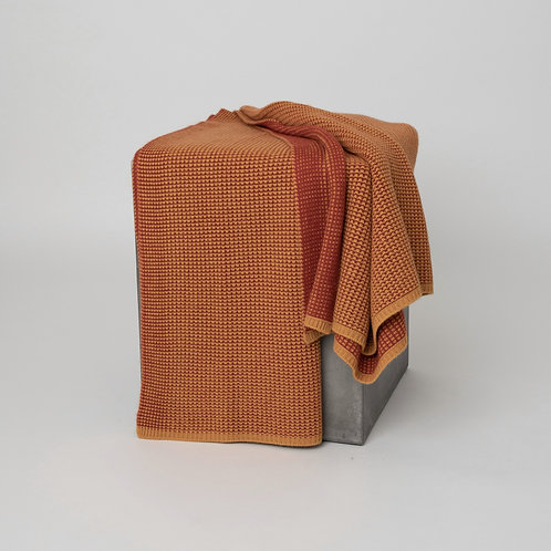 Cashmere Waffle Knit Throw