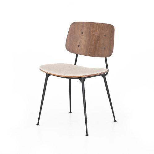Jules Dining Chair-Acorn/Heavy Linen