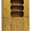 Thumbnail: Rustic Colonial Pine Pewter Cupboard