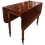 Thumbnail: American Federal Mahogany Drop-Leaf Console and Dining Table