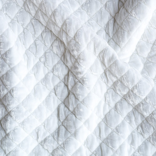Silk Velvet Quilted Swatch