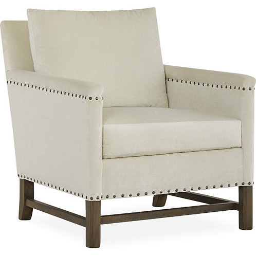Patrick Chair in Pierre Pearl