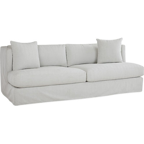 Kellan Outdoor Slipcovered Sofa in Villa Sands