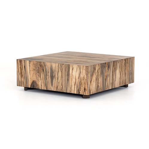 Henri Square Coffee Table-Spalted