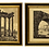 Thumbnail: Folio Etchings From 101 Views of Roman Antiquities by Luigi Rossini - A Pair