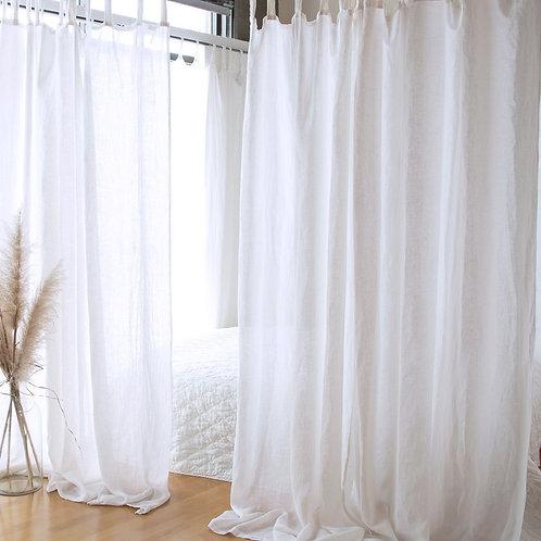 Linen Whisper Curtain Panel (Single)