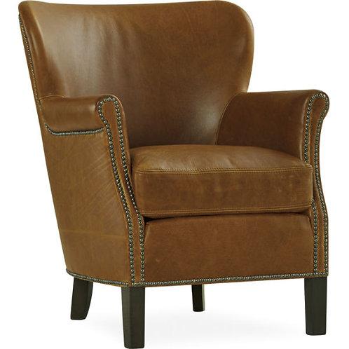 Adler Leather Chair in Madrid Chestnut