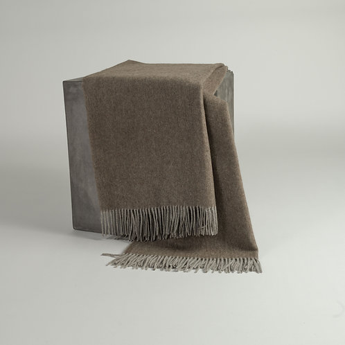 Herringbone Weave Yak Down Throw